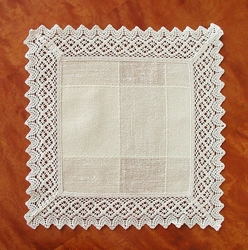 Serwetka teflonowana Greno słomkowy kwadrat - słomkowy