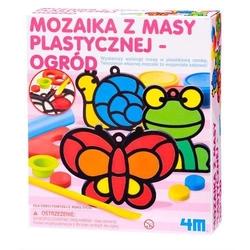 Mozaika z masy plastycznej - ogród - OGR