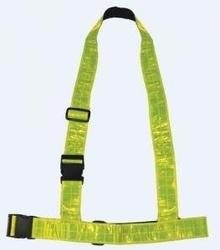 Szelki odblaskowe ozone fluo yellow