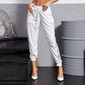 Spodnie damskie labellamafia pants white