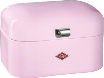 Pojemnik na pieczywo single grandy różowy