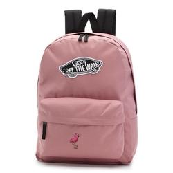 Plecak szkolny vans realm nostalgia rose - vn0a3ui6uxq - custom flamingo