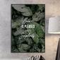 Plakat w ramie - nature is pleased with simplicity , wymiary - 20cm x 30cm, ramka - biała