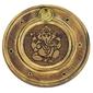 Podstawka do kadzideł grawerowana okrągła - ganesh