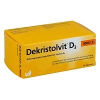 Dekristolvit d3 4.000 i.e. tabletki
