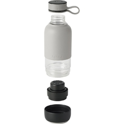 Butelka szklana na wodę z filtrem 0,6 litra to go lekue 0301018g10m017