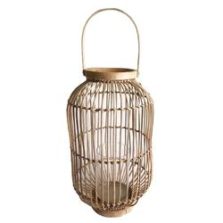 Lampion  latarenka rattanowa altom design 24 x 37 cm