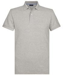 Męska koszulka polo profuomo jasznoszara s