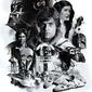 Star wars 40th anniversary - plakat filmowy