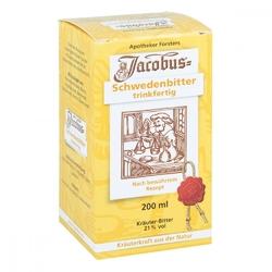Jacobus zioła szwedzkie w płynie