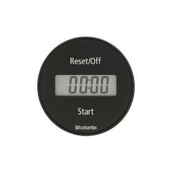 Brabantia - elektroniczny timer kuchenny na magnes - ciemnoszary - ciemnoszary