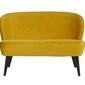 Woood :: sofa sara mała aksamitna ochra