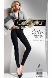 Leginsy gabriella 179 cotton 250 nero