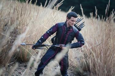 Avengers: czas ultrona - hawkeye ver3 - plakat wymiar do wyboru: 70x50 cm
