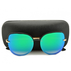 Okulary kocie oczy lustro przeciwsłoneczne std-75