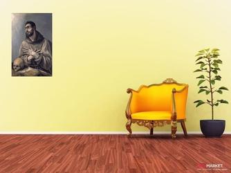 święty franciszek el greco ; obraz - reprodukcja