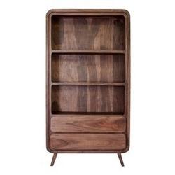Table4u :: drewniany regał helena 60x30x160 - kolor czekolada