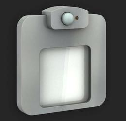 Oprawa led - moza - aluminium - podtynkowa - czujnik ruchu