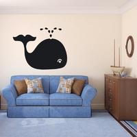 Wieloryb 100 naklejka tablicowa