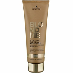 Schwarzkopf BlondMe Keratin Restore Bonding, szampon wzmacniający do blondów 250ml