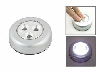 Lampka 3 Led - samoprzylepna