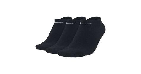 Nike skarpety 3pak value no show sx2554-001 35-38 czarny