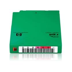 Zestaw 20 taśm ze standardowymi etykietami hp lto-4 ultrium 1,6 tb
