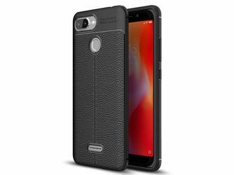 Etui Alogy Leather Armor Xiaomi Redmi 6 + Szkło 3mk