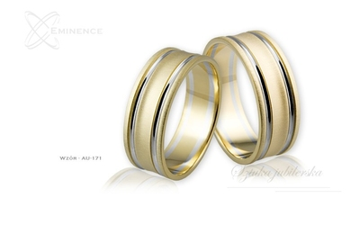 Obrączki ślubne - wzór au-171