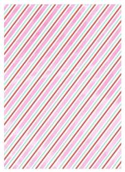 Papier prezentowy meri meri rolka 3m - paski opalizujące