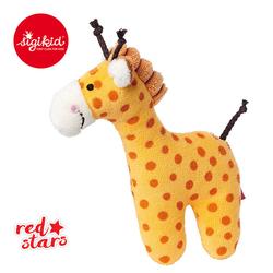SIGIKID Miękka mini – grzechotka Żyrafa Red Stars