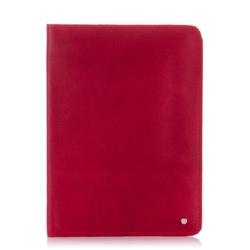 Skórzane etui na tablet pokrowiec baleine tb01 czerwony