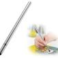 Rysik precyzyjny do ekranów 2w1 długopis alogy elite tablet pen srebrny - srebrny