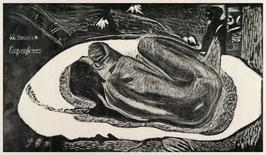 Spirit of the dead watching, paul gauguin - plakat wymiar do wyboru: 91,5x61 cm