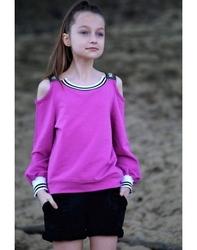 Fuksjowo - fioletowa bluzka