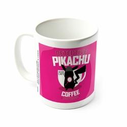 Detective Pikachu Coffee Powered - kubek