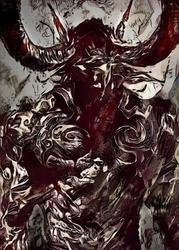 Legends of bedlam - illidan, warcraft - plakat wymiar do wyboru: 40x50 cm