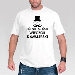 Koszulka – Dżentelmeński Wieczór Kawalerski - L