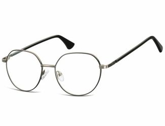 Lenonki okrągłe okulary oprawki optyczne 916d grafitowo-czarna