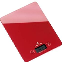Waga kuchenna cyfrowa zassenhaus czerwona zs-073218