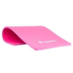 Mata do ćwiczeń profi 100 x 50 cm różowa - insportline - różowy