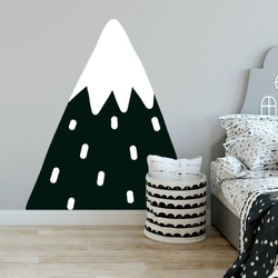 Naklejka na ścianę - lovely mountain , wymiary naklejki - szer. 80cm x wys. 100cm