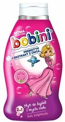 Bobini Baby, Mała Księżniczka, płyn do kąpieli i mycia 2w1, 660 ml