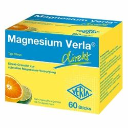 Magnesium Verla direkt Granulat Citrus