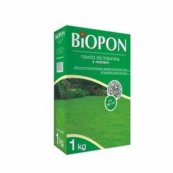 Biopon, nawóz granulowany do trawnika z mchem, 1kg