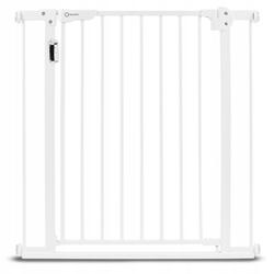 Lionelo truus slim led white barierka zabezpieczająca schody i drzwi 75-105 cm