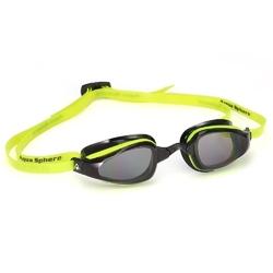 Aquasphere okulary k180 ciemne szkła żółty-czarny