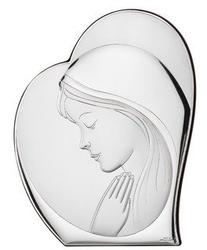 Ryngraf z powłoką srebra matka boska vl810912l - ok. 14,6 cm  ok. 12,1 cm