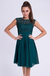 Evalola sukienka butelkowa - zieleń 26012-1
