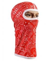 Kominiarka termoaktywna 3d - czerwona bandana